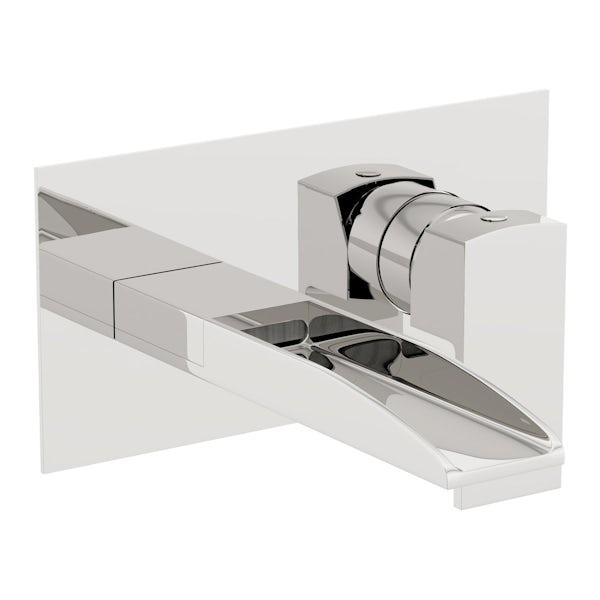 Cooper wall mounted basin mixer tap