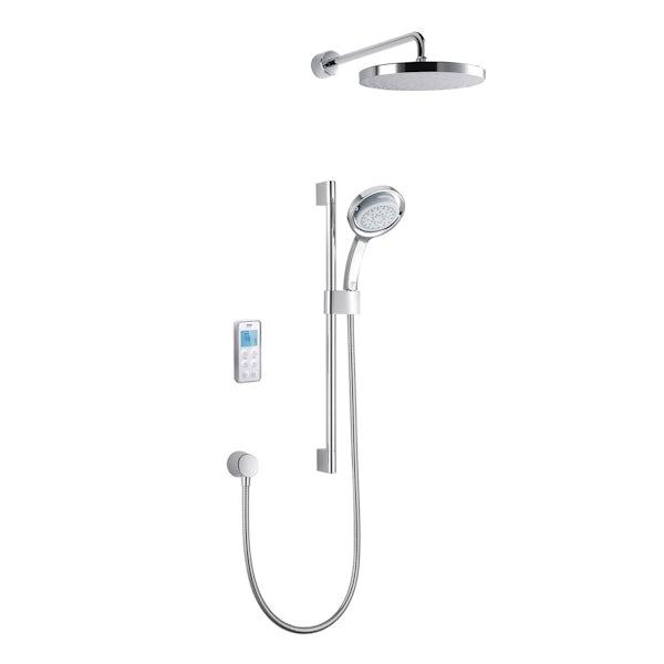 Mira Vision dual rear fed digital shower standard