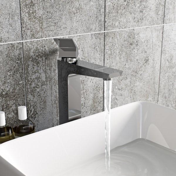 Mode Carter high rise basin mixer tap offer pack