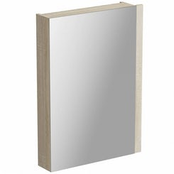Drift sawn oak bathroom mirror cabinet offer pack