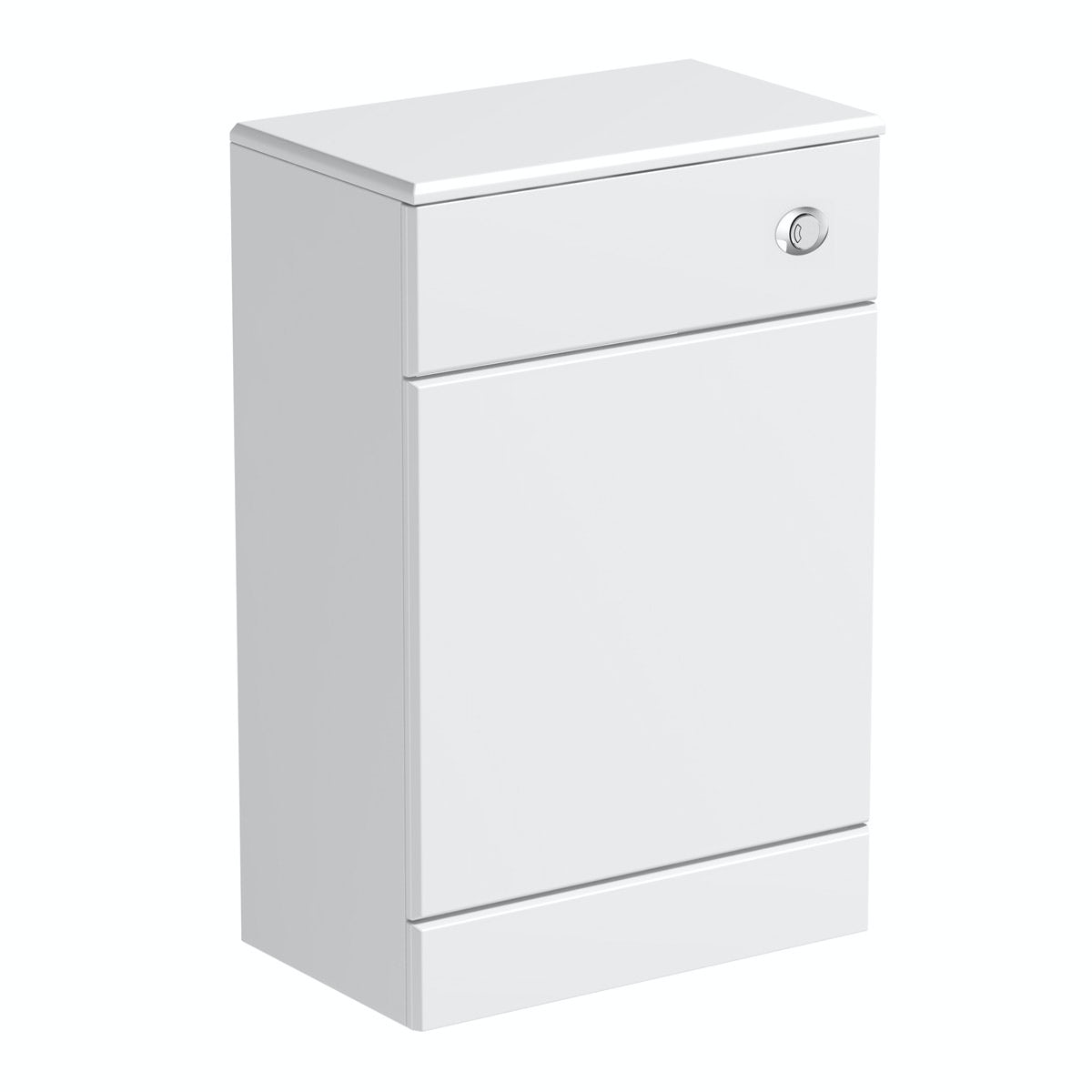 Sienna white slimline back to wall toilet unit