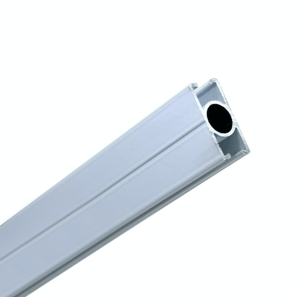 AKW Straight shower curtain rail 1900mm