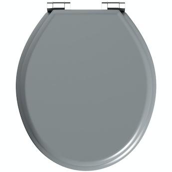 Toilet Seats Soft Close Toilet Seats VictoriaPlumcom - Black wooden toilet seat