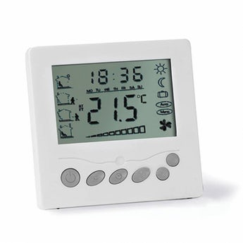 LCD thermostat for underfloor heating mats