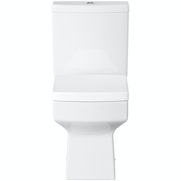 Orchard Wye close coupled toilet with soft close toilet seat