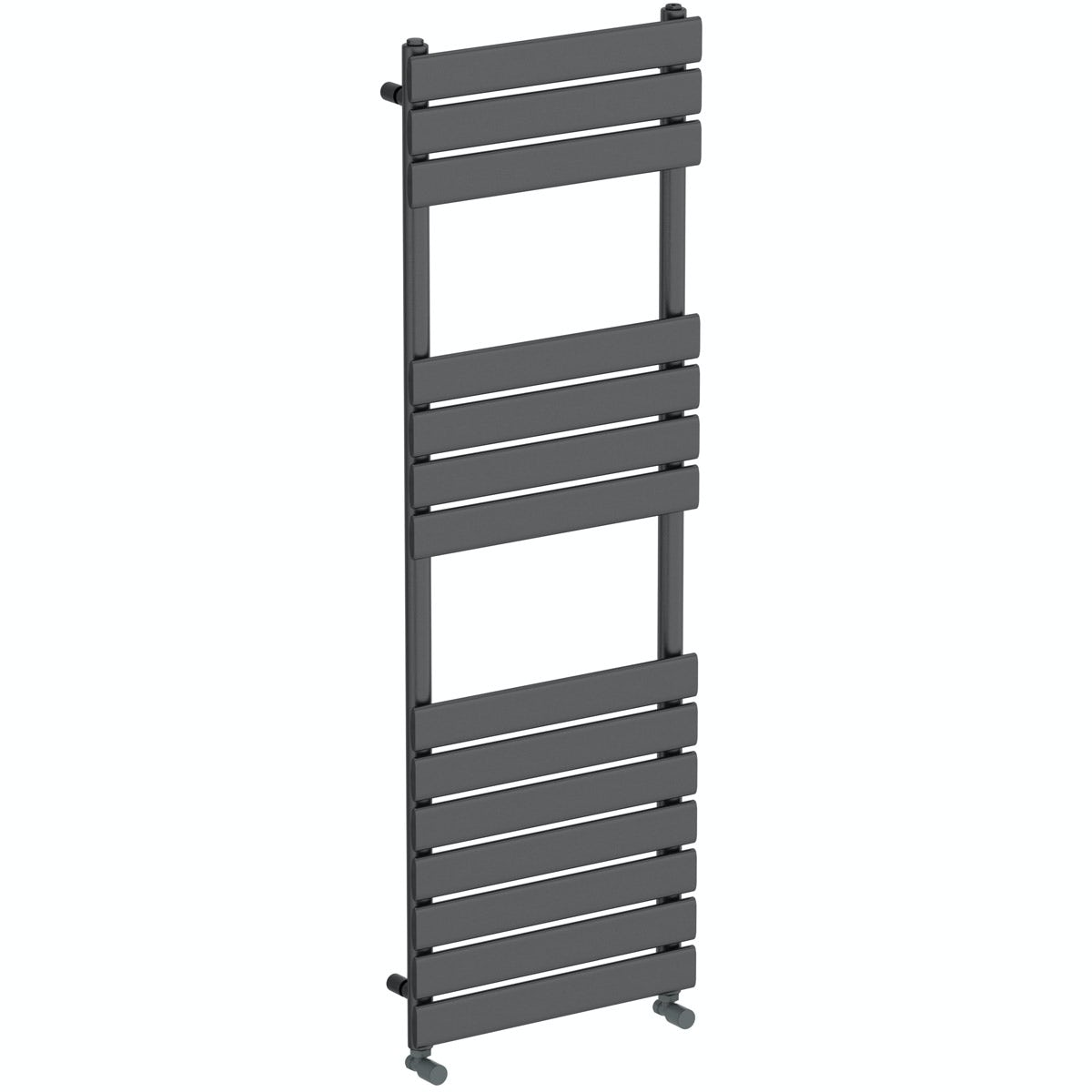 Orchard Wharfe anthracite heated towel rail 1500 x 502
