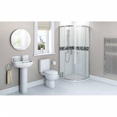 Image of Energy Bathroom set with Quadrant Enclosure 800, Tray & Free Tap