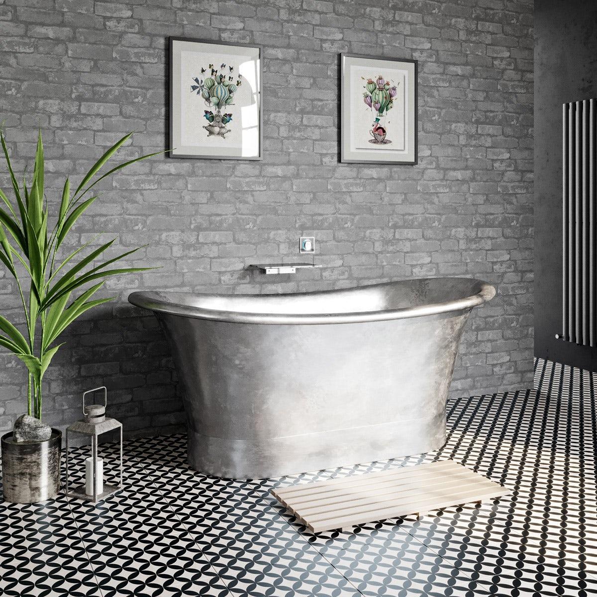bathroom wallpaper. Fine Decor Rustic Brick Sidewall Cream Grey Wallpaper Bathroom S