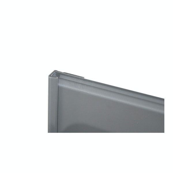Zenolite plus matt ash colour matched edge cap 250mm