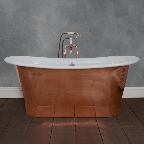 Belle de Louvain Rembrandt copper and enamel bath
