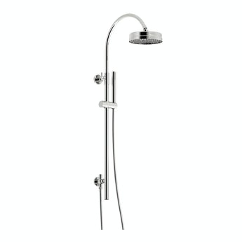 The Bath Co. Traditional style rain can shower riser rail kit