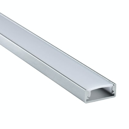 Surface mounted aluminium profile 1m