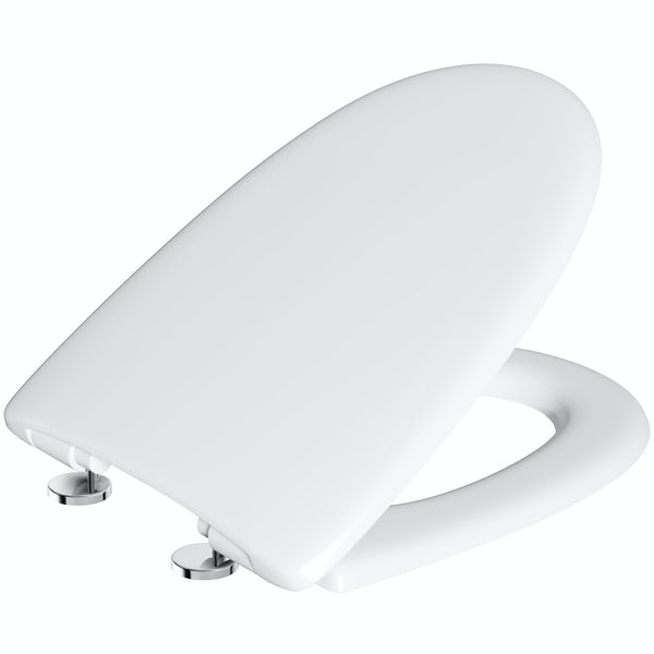 Deluxe 105 Thermoset Anti Scratch Soft Close Toilet Seat