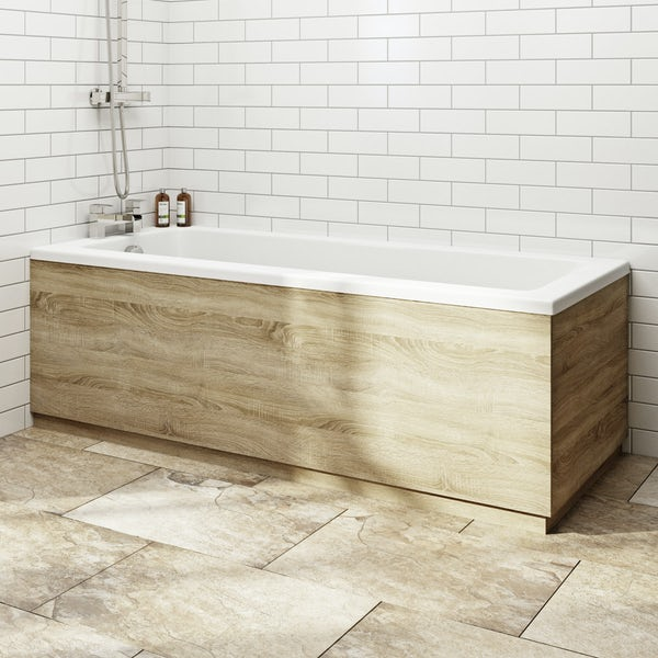 Orchard Wye complete shower bath suite 1400 x 700