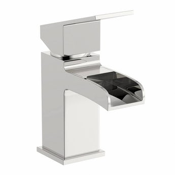 Orchard Escala waterfall basin mixer tap