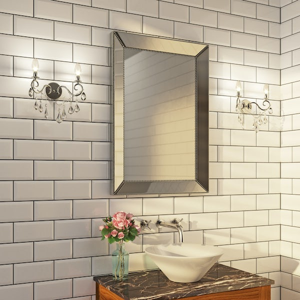 Forum Solen 2 light bathroom wall light
