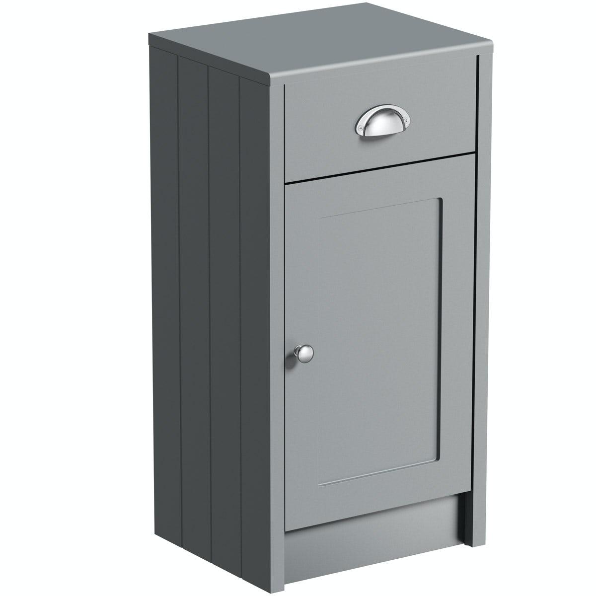 Captivating Dulwich Stone Grey Storage Unit