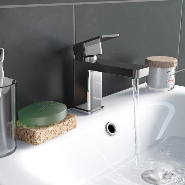Kirke Connect basin and bath mixer tap pack