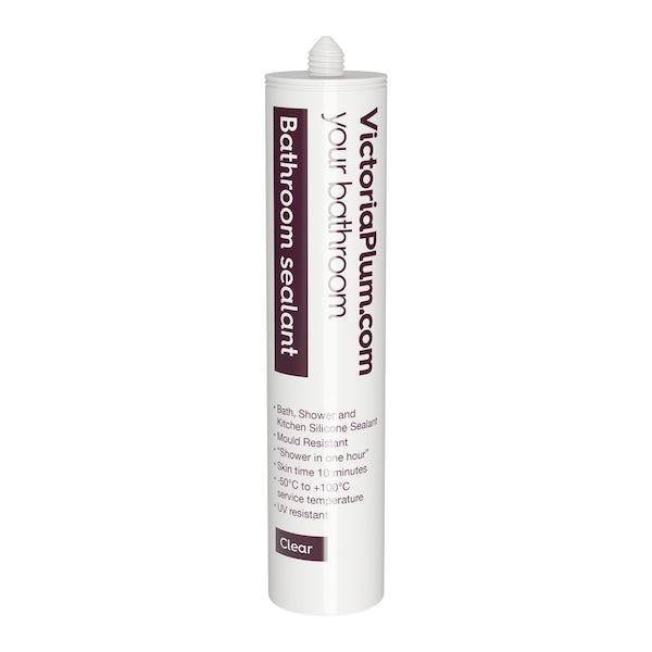 Mode Harrison 8mm easy clean sliding shower door offer pack