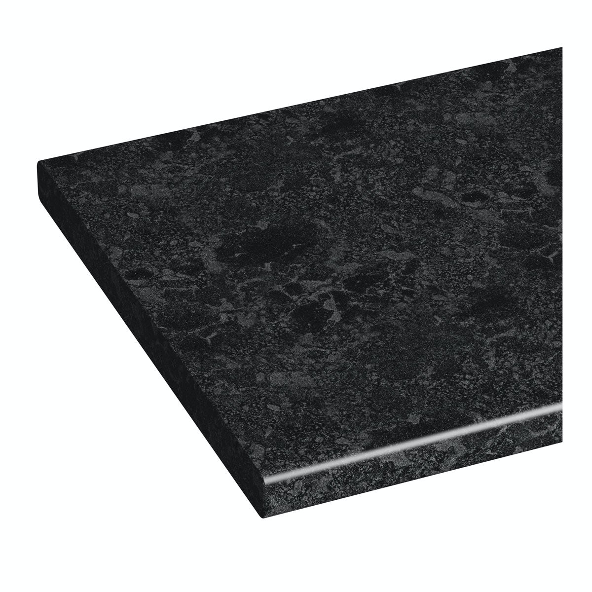 Orchard Florence midnight black vanity unit countertop 337 x 1800