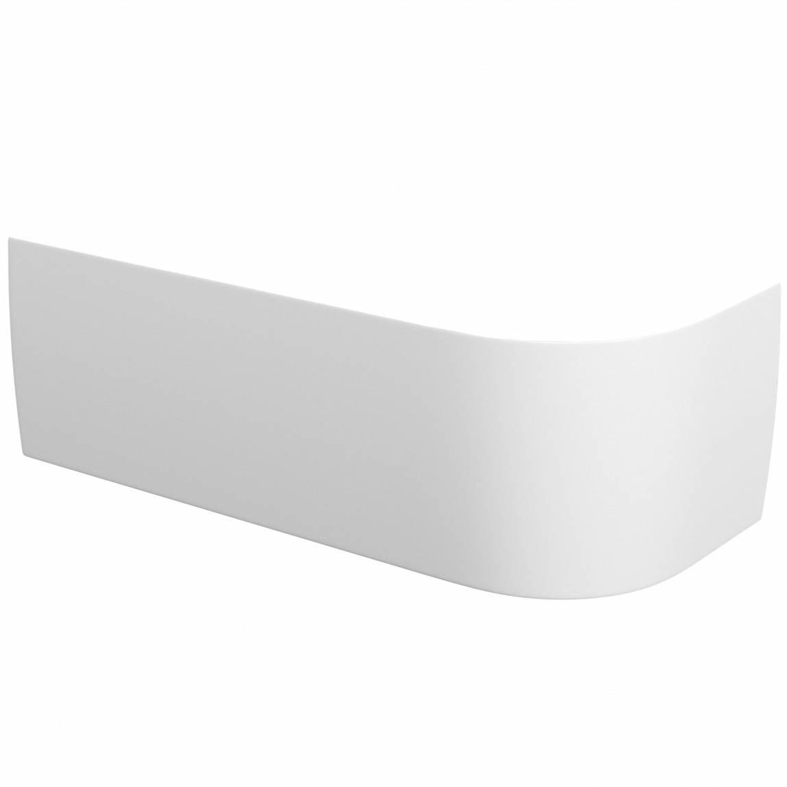 Orchard Elsdon D shaped left handed single ended bath panel