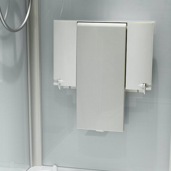 Kinemagic Serenity corner shower cabin