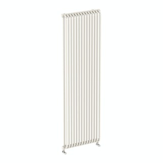 Delfin soft white vertical radiator 1800 x 500