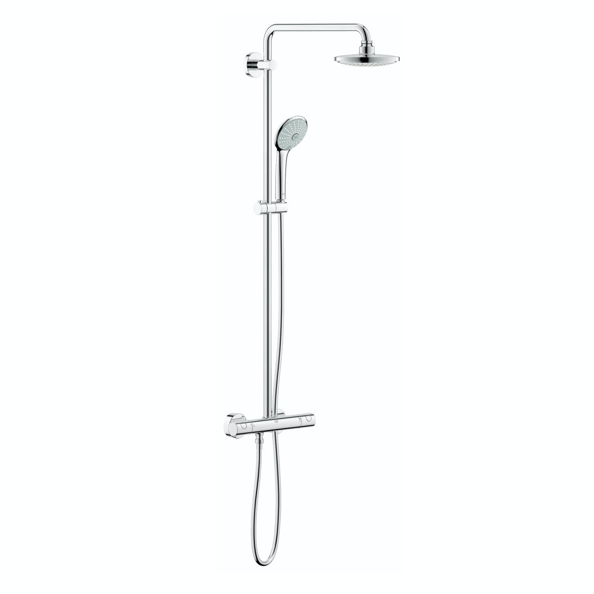 grohe euphoria 180 cosmopolitan shower system. Black Bedroom Furniture Sets. Home Design Ideas