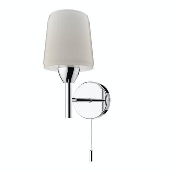 Helios bathroom wall light