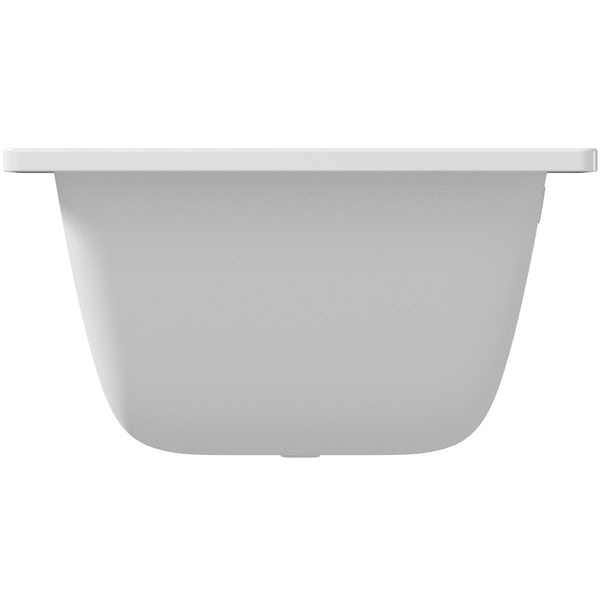 Kaldewei Puro Duo straight steel bath 1800 x 800 with no tap holes