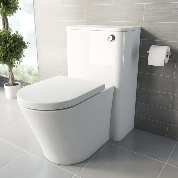 Tate Back To Wall Toilet including Soft Closing Seat