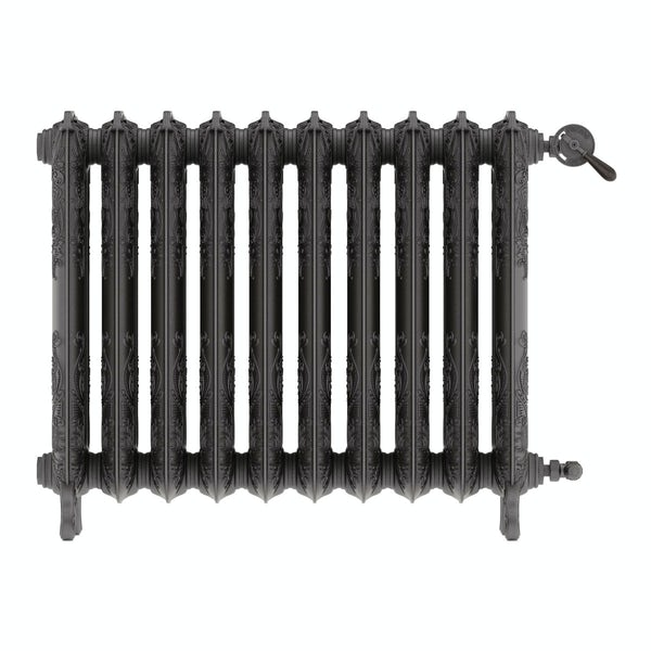 Oxford raw metal freestanding cast iron radiator 710 x 852