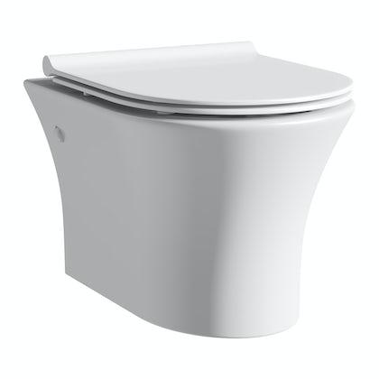 Mode Hardy wall hung toilet inc slimline soft close seat
