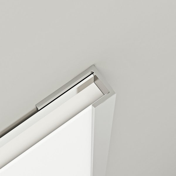 Orchard shower wall panel aluminium end cap profile
