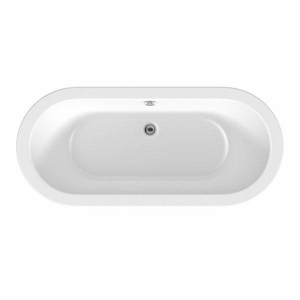 Crescent Freestanding Bath Small