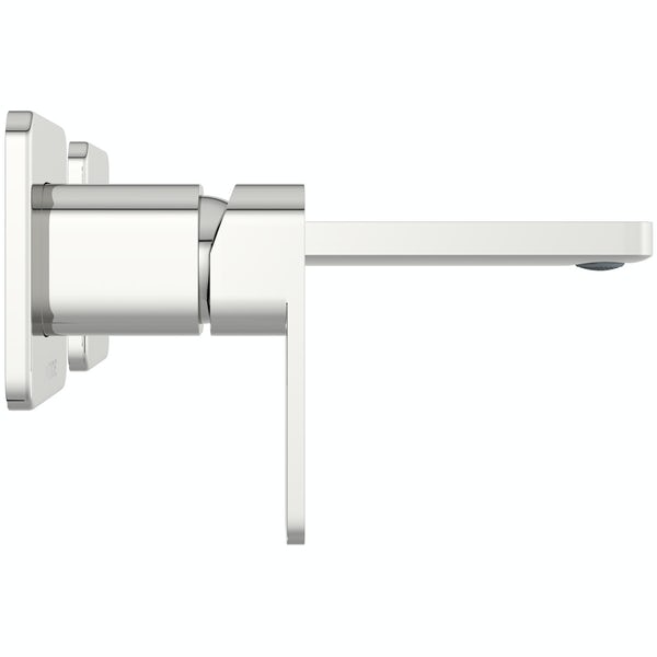 Mode Spencer square wall mounted bath mixer tap