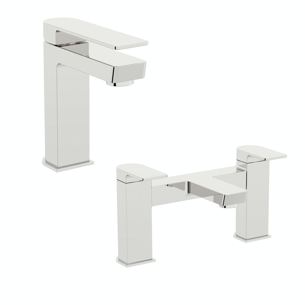 Mode Ellis basin and bath mixer tap pack