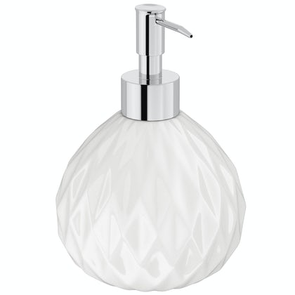 Geo white soap dispenser
