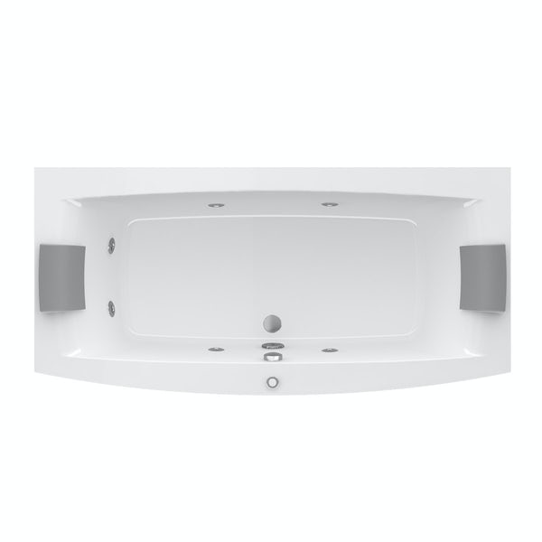 Jacuzzi the Essentials double ended whirlpool bath