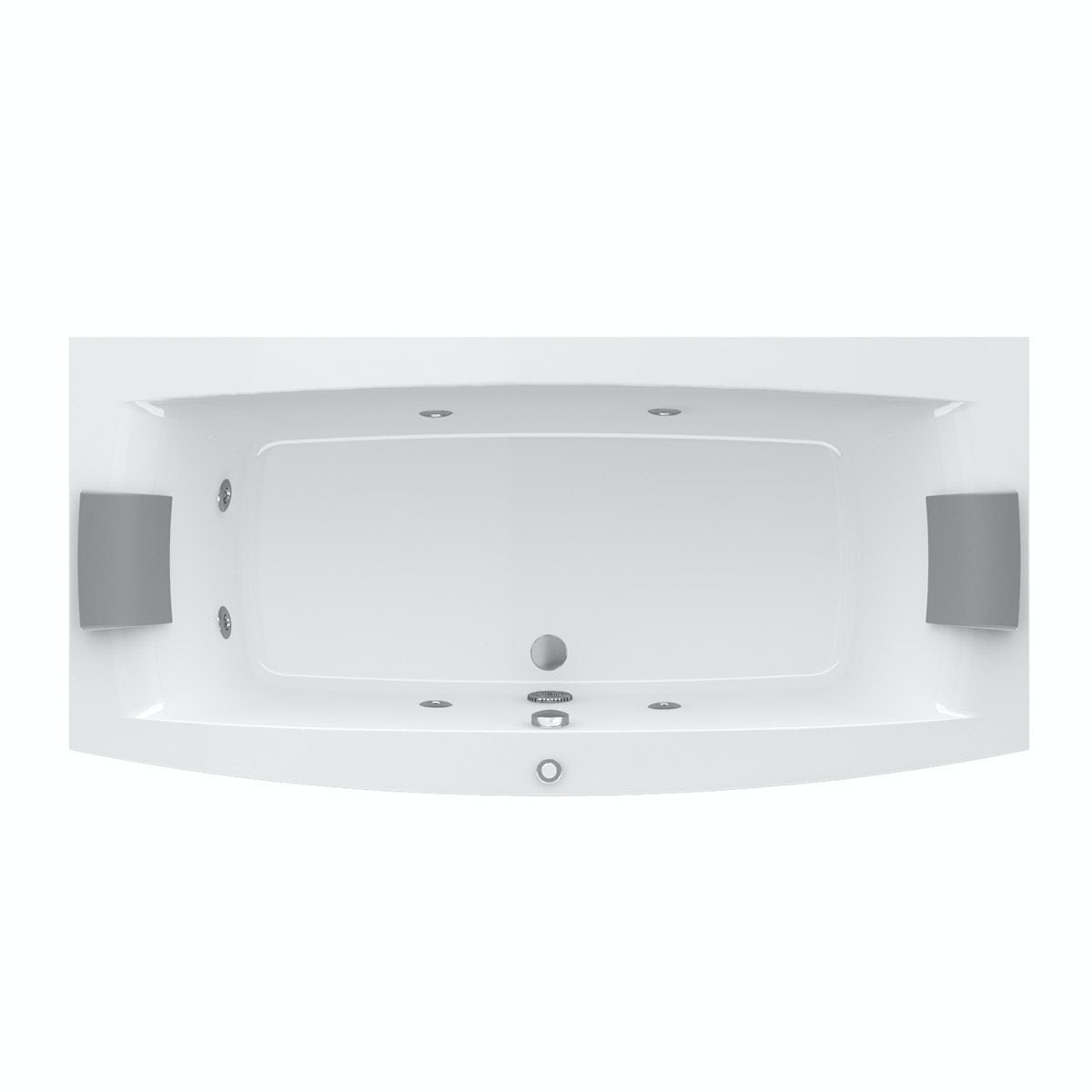 Excellent Jacuzzi The Essentials Double Ended Whirlpool Bath With Five  Moments To Remember From Whirlpool Hersteller Whirlpool Hersteller