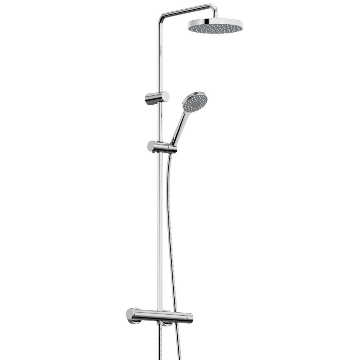 Bristan Carre thermostatic bar valve shower system