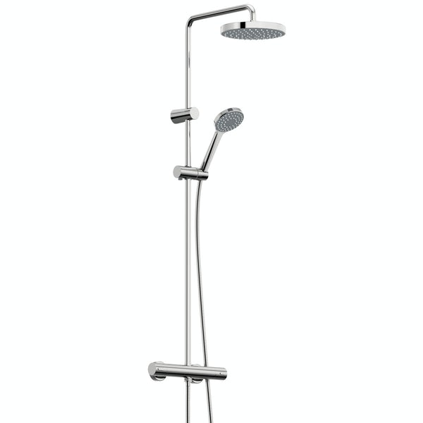 Bristan Carre thermostatic bar valve shower system