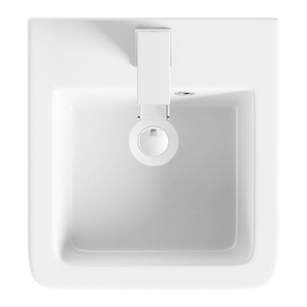 Toba wall hung basin