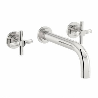 Alexa Wall Mounted Basin Mixer