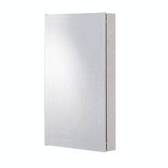 Radial stainless steel bathroom corner cabinet