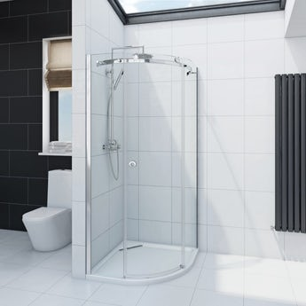 Mode Infiniti 8mm quadrant shower enclosure