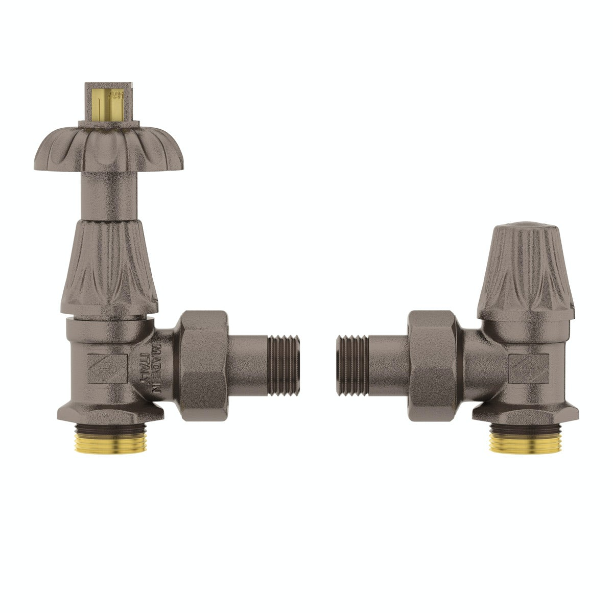 Terma Oxford russet thermostatic radiator valves