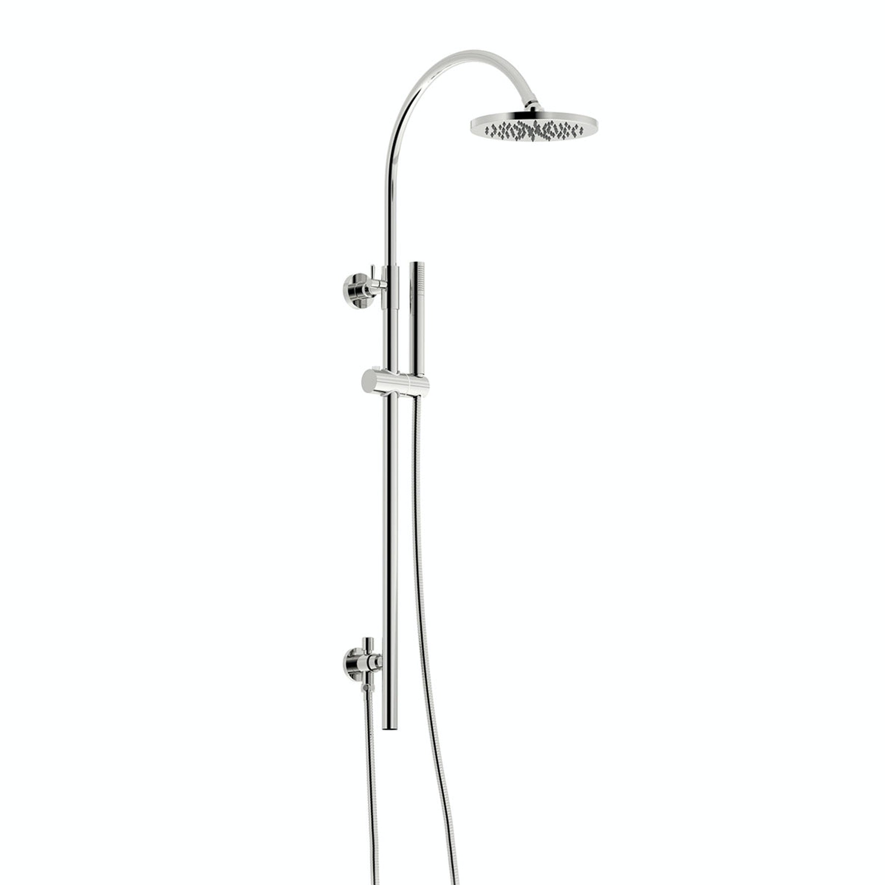 Mode Aria round shower riser kit
