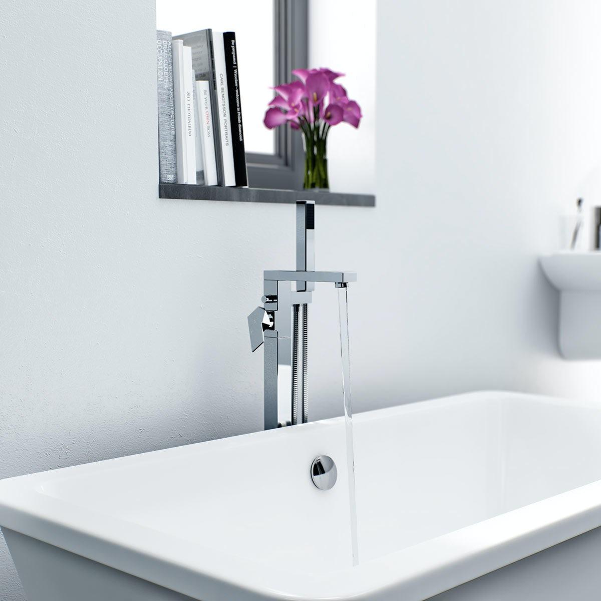 freestanding bath filler cratem com mode ellis freestanding bath filler victoriaplum