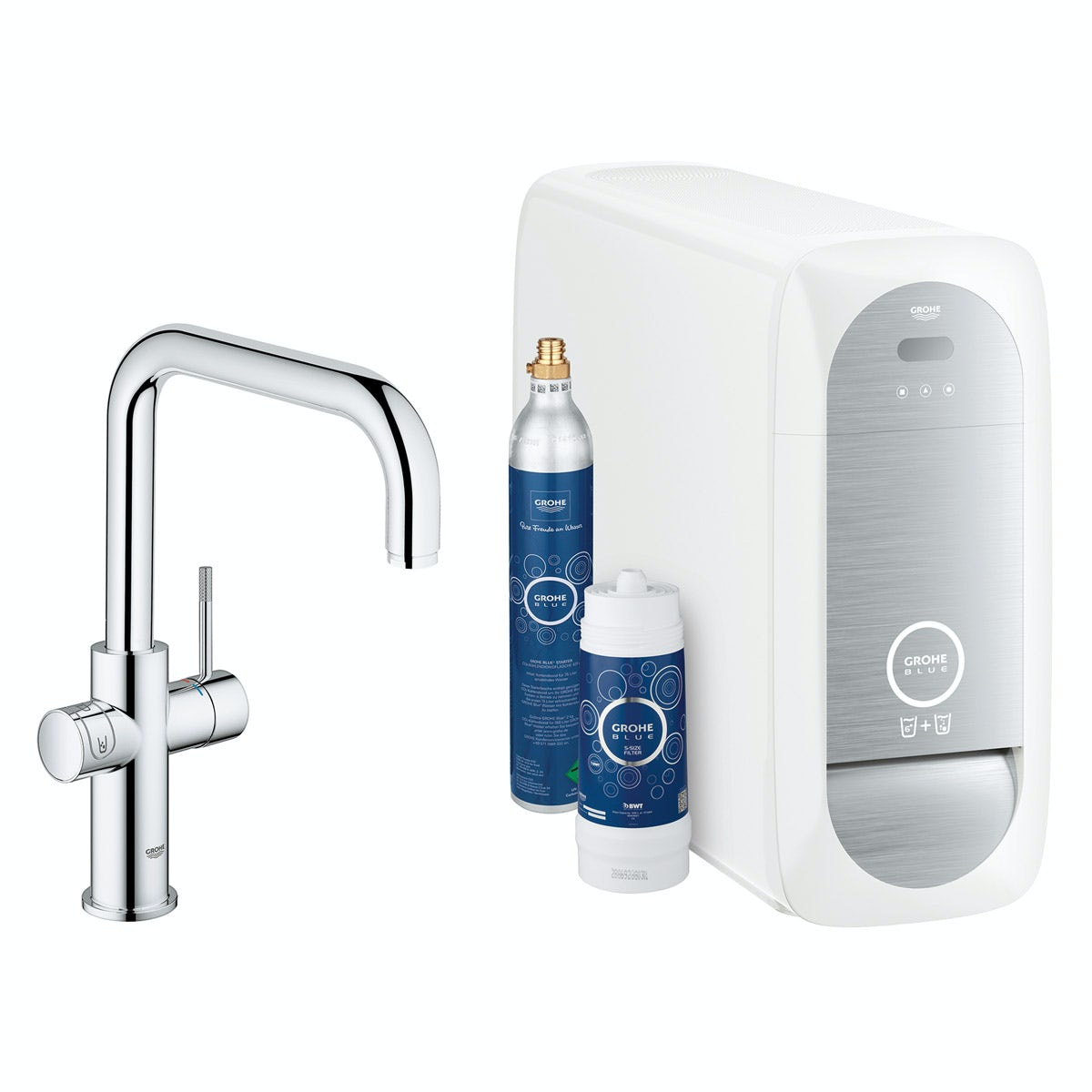 Grohe Blue Home U spout kitchen tap